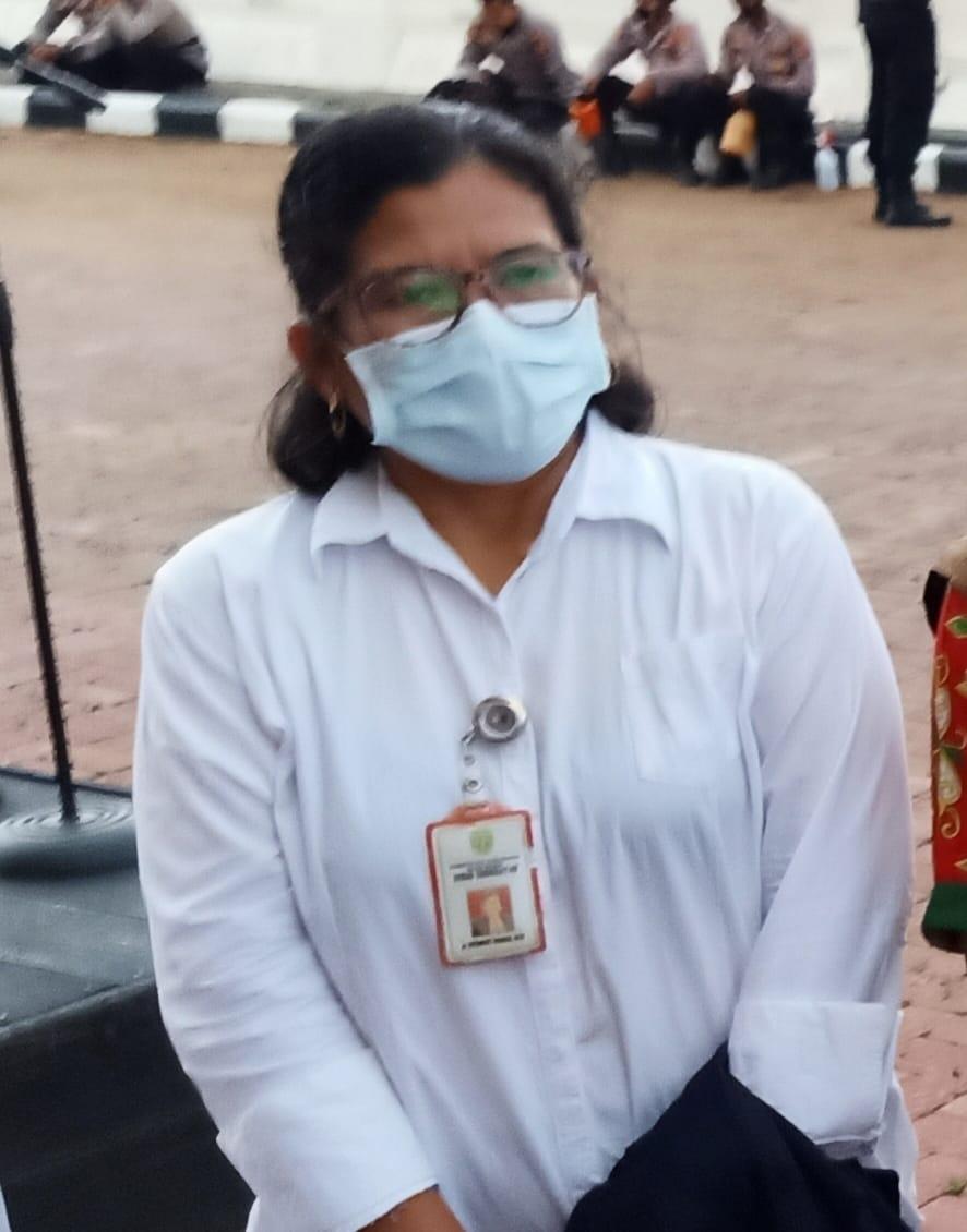 Kepala Dinas Kesehatan Kubar, dr Ritawati Sinaga.(Dok.Mahakam Post)