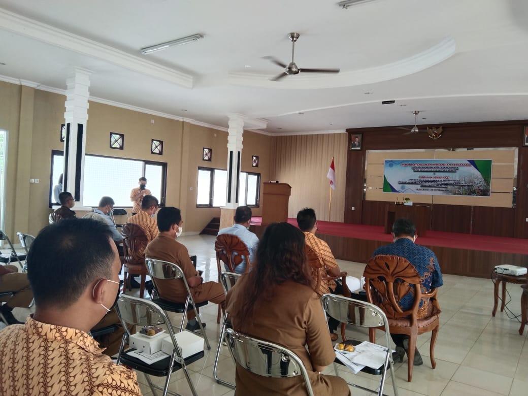 Keterangan Foto : Rapat koordinasi sinergitas BPJS Kesehatan dengan sejumlah OPD dilingkup Pemkab Kubar. (Foto : Istimewa)